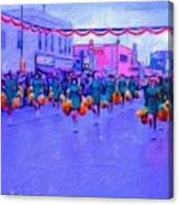 Marching In The Parade Canvas Print