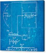 Marconi Radio Patent Art 1897 Blueprint Canvas Print