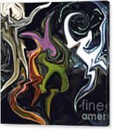 Mardi Gras Abstract Canvas Print