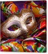 Mardi Gras - Celebrating Mardi Gras  Canvas Print