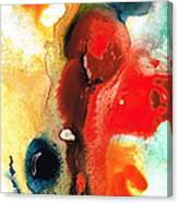 Mardi Gras - Colorful Abstract Art By Sharon Cummings Canvas Print