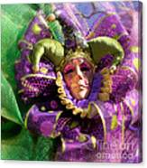 Mardi Gras Decoration Canvas Print