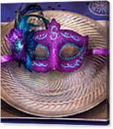 Mardi Gras Theme - Surprise Guest Canvas Print