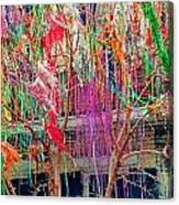 Mardi Gras Tree Canvas Print