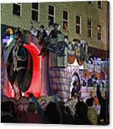 Mardi Gras Vampire Float  2 Canvas Print