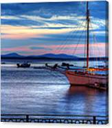 Margaret Todd At Sunrise Canvas Print