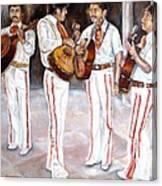 Mariachi  Musicians Canvas Print