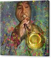 Mariachi Trumpet Player Canvas Print