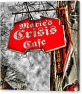 Marie's Crisis Cafe Canvas Print