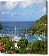 Marigot Bay Canvas Print