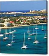 Marigot Harbor St. Martin Canvas Print