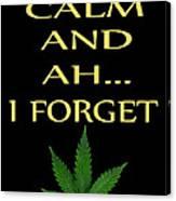 Marijuana 4 Canvas Print