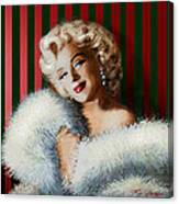 Marilyn 126 D 3 Canvas Print