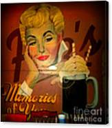 Marilyn And Fitz's Canvas Print