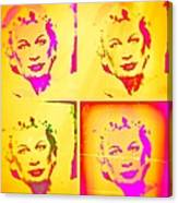Marilyn Grew Up Canvas Print