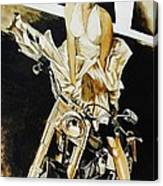 Marilyn In A Man's World Canvas Print