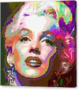 Marilyn Monroe 01 - Abstarct Canvas Print