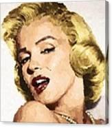 Marilyn Monroe 08 Canvas Print