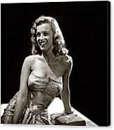 Marilyn Monroe Photo By J.r. Eyerman 1947-2014 Canvas Print