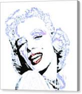 Marilyn Monroe 20130331 Square Canvas Print