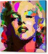 Marilyn Monroe - Abstract Canvas Print