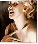 Marilyn Monroe Artwork 1 Canvas Print
