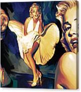 Marilyn Monroe Artwork 3 Canvas Print