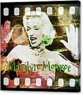 Marilyn Monroe Film Canvas Print