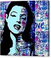 Marilyn Monroe. Loved Lost . Loved Again 2 Canvas Print