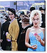 Marilyn Monroe - River Of No Return Canvas Print