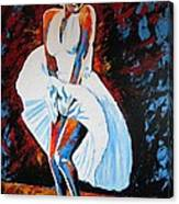 Marilyn Monroe The Seven Year Itch Canvas Print