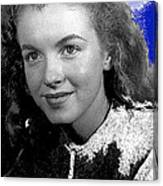 Marilyn Monroe Then Norma Jeane Dougherty Photo By H. Maier Studios Los Angeles Ca C.1943-2014 Canvas Print