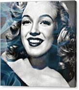 Marilyn On Fire Canvas Print