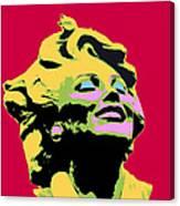 Marilyn Three Canvas Print