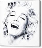 Marilyn 3 Canvas Print