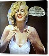 Marilyns Pointers Canvas Print