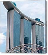 Marina Bay Sands Hotel 01 Canvas Print