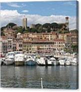 Marina Cannes Canvas Print
