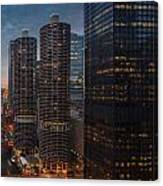 Marina City And A M A Plaza Chicago Canvas Print