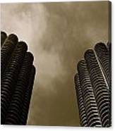 Marina City Towers Canvas Print