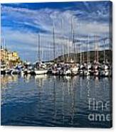marina in Porto Azzurro Canvas Print