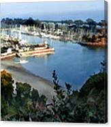 Marina Overlook Canvas Print