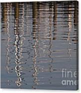 Marina Reflection 3 Canvas Print
