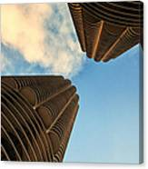 Marina Towers Canvas Print
