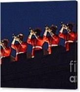 Marine Band At Night Canvas Print