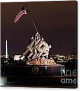 Marine Corps War Memorial Canvas Print