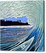Marine Street Canvas Print