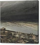Marine Terrace In Jersey Canvas Print