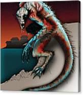 Marine Troll Canvas Print