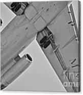 Marines In Flight Canvas Print